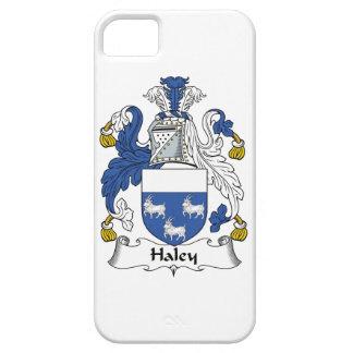 Escudo de la familia de Haley iPhone 5 Protectores