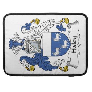 Escudo de la familia de Haley Funda Para Macbooks