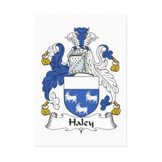 Escudo de la familia de Haley Lona Estirada Galerias