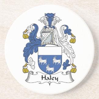 Escudo de la familia de Haley Posavasos Para Bebidas