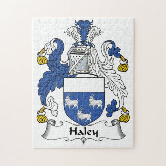 Escudo de la familia de Haley Puzzle