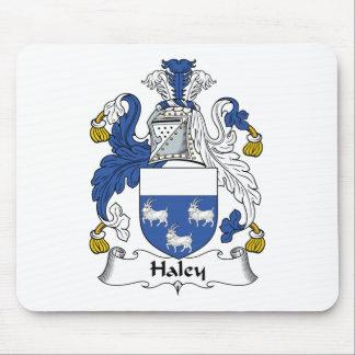 Escudo de la familia de Haley Alfombrillas De Ratón