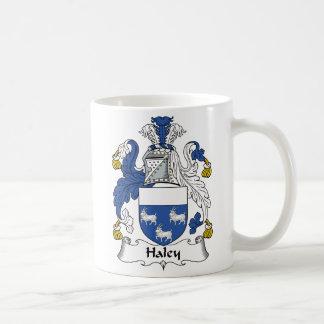 Escudo de la familia de Haley Taza De Café