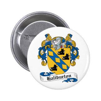 Escudo de la familia de Haliburton Pin