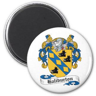 Escudo de la familia de Haliburton Imán