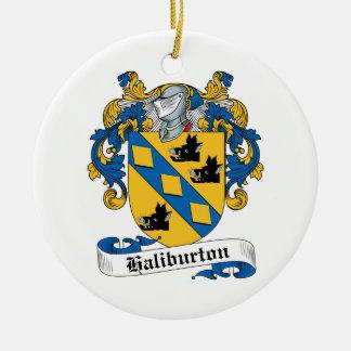 Escudo de la familia de Haliburton Ornatos