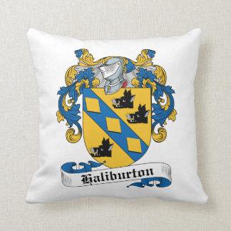 Escudo de la familia de Haliburton Cojin