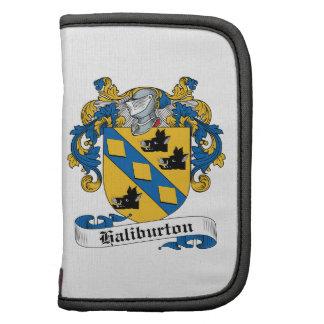 Escudo de la familia de Haliburton Planificador