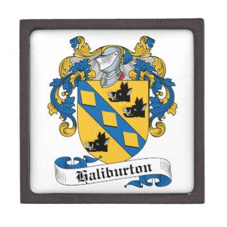 Escudo de la familia de Haliburton Cajas De Regalo De Calidad