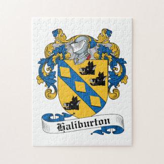 Escudo de la familia de Haliburton Puzzles Con Fotos