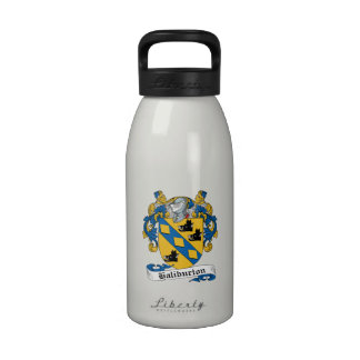 Escudo de la familia de Haliburton Botella De Agua