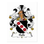 Escudo de la familia de Halle Tarjetas Postales