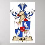 Escudo de la familia de Haller Impresiones