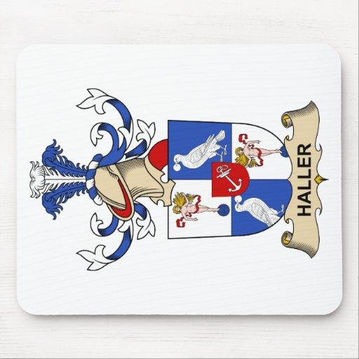 Escudo de la familia de Haller Tapetes De Raton