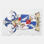 Escudo de la familia de Haller Toalla De Mano