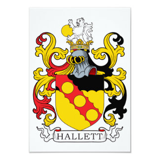 Escudo de la familia de Hallett Anuncio