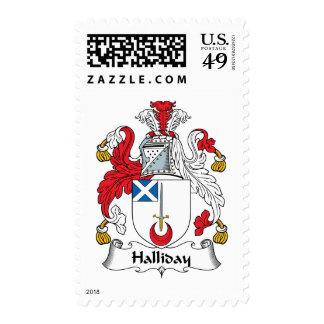 Escudo de la familia de Halliday