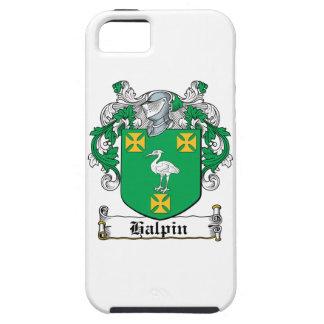 Escudo de la familia de Halpin iPhone 5 Protectores