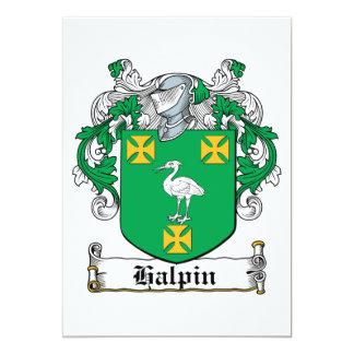 Escudo de la familia de Halpin Invitaciones Personalizada