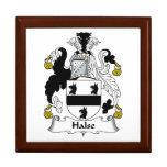 Escudo de la familia de Halse Cajas De Recuerdo