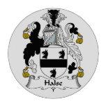 Escudo de la familia de Halse Fichas De Póquer