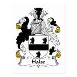 Escudo de la familia de Halse Tarjetas Postales