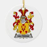 Escudo de la familia de Haltridge Adornos