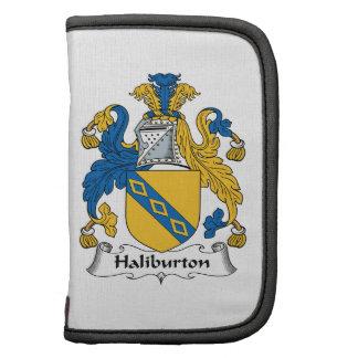 Escudo de la familia de Halyburton Planificadores