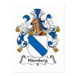 Escudo de la familia de Hamberg Postal