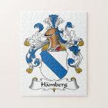 Escudo de la familia de Hamberg Puzzle