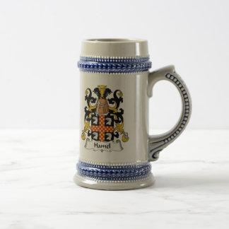 Escudo de la familia de Hamel Jarra De Cerveza