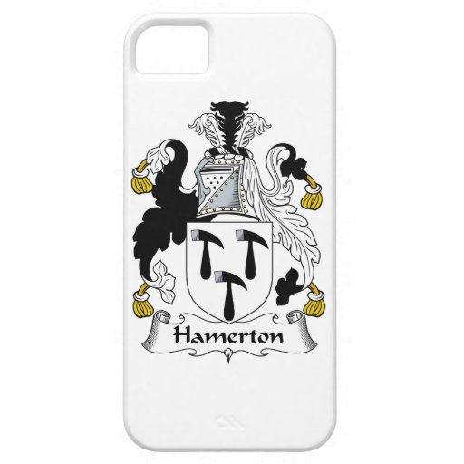 Escudo de la familia de Hamerton iPhone 5 Funda