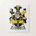 Escudo de la familia de Hames Puzzles