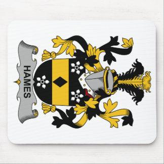 Escudo de la familia de Hames Mouse Pad