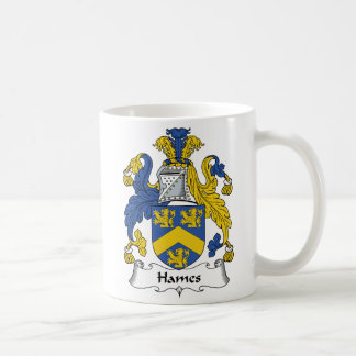 Escudo de la familia de Hames Taza Clásica
