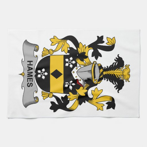 Escudo de la familia de Hames Toalla