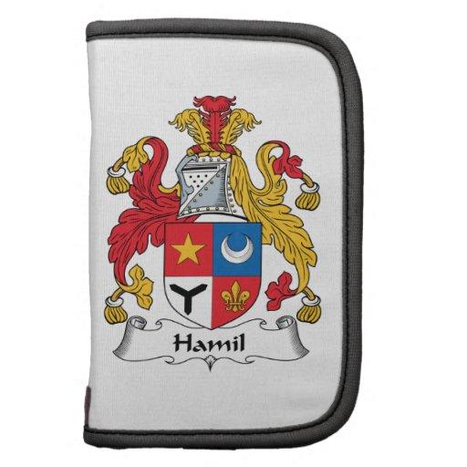 Escudo de la familia de Hamil Planificador