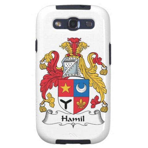 Escudo de la familia de Hamil Samsung Galaxy S3 Funda