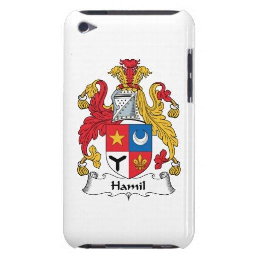 Escudo de la familia de Hamil Barely There iPod Cárcasa
