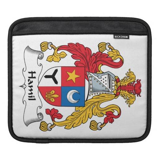 Escudo de la familia de Hamil Fundas Para iPads