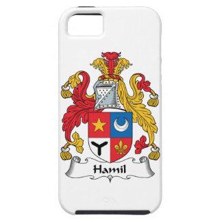 Escudo de la familia de Hamil iPhone 5 Carcasa