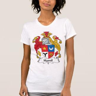 Escudo de la familia de Hamil Poleras