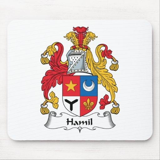 Escudo de la familia de Hamil Tapete De Ratón