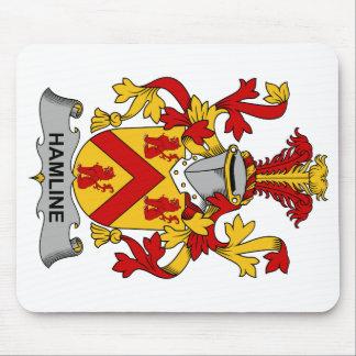 Escudo de la familia de Hamline Alfombrilla De Ratón