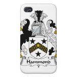 Escudo de la familia de Hammond iPhone 4/4S Funda