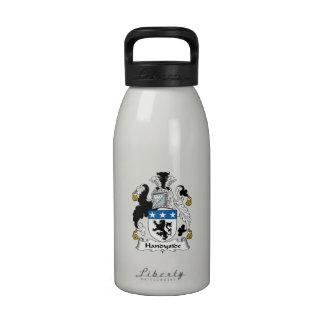 Escudo de la familia de Handyside Botella De Beber