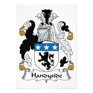 Escudo de la familia de Handyside Comunicados