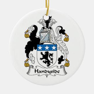 Escudo de la familia de Handyside Ornamento Para Reyes Magos
