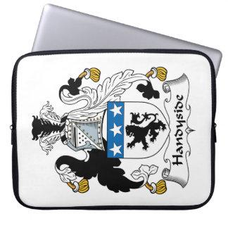 Escudo de la familia de Handyside Funda Portátil