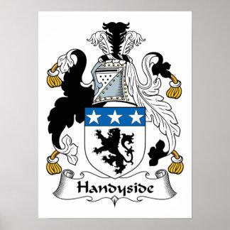 Escudo de la familia de Handyside Impresiones